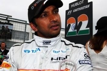 HRT bevestigt Karthikeyan voor Indiase GP