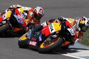 Repsol Honda domineert trainingen Japan
