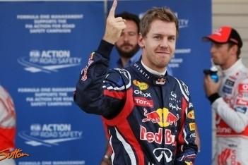 Vettel nipt naar twaalfde pole van het jaar op Suzuka