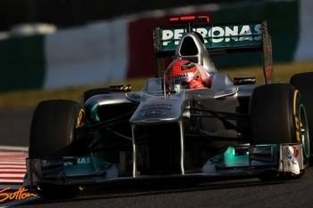 Schumacher 'best of the rest' op Suzuka