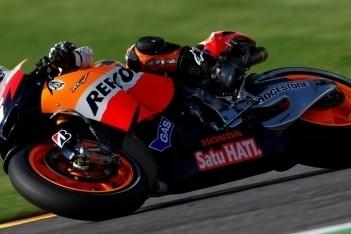 Pedrosa snelste op eerste testdag Valencia