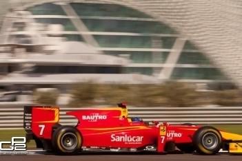 Leimer winnaar van eerste race Abu Dhabi