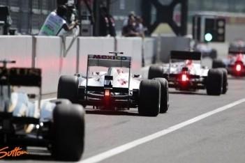Teams beginnen aan eerste testdag Abu Dhabi
