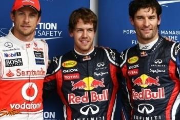 Vettel breekt record met vijftiende pole van het jaar