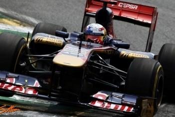 Scuderia Toro Rosso buiten de punten in Brazilië