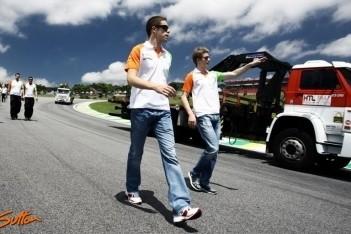 Force India neemt Di Resta en Hülkenberg