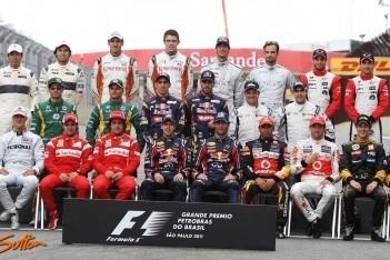 Elf coureurs vechten voor Formule 1-toekomst