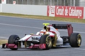 Karthikeyan goedgeluimd na shakedown F112