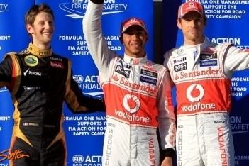 McLaren deelt ferme tik uit in kwalificatie Melbourne