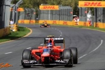Pic content over eerste Formule 1-kwalificatie