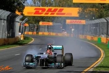 Mercedes overtuigt in Australische kwalificatie