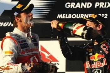 Vettel content met punten voor tweede plaats