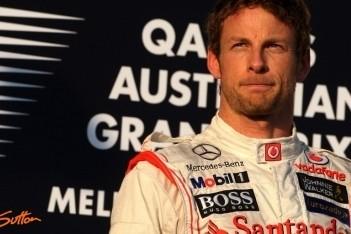 Button blij met zege in eerste race van 2012