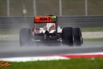 Karthikeyan bestraft voor incident met Vettel