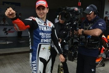 Lorenzo verslaat Pedrosa in kwalificatie Jerez