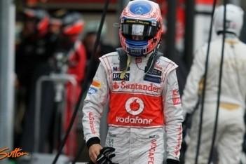 Button gefrustreerd na moeizame race Monaco