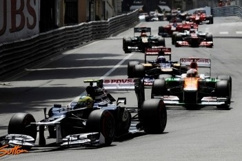 Senna niet tevreden met resultaat in Monaco
