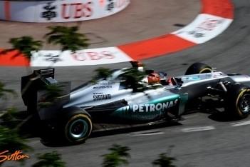 """Schumacher geeft toe: """"Ik hoopte op podium"""""""