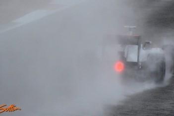Silverstone verrast door vele regenval dit jaar