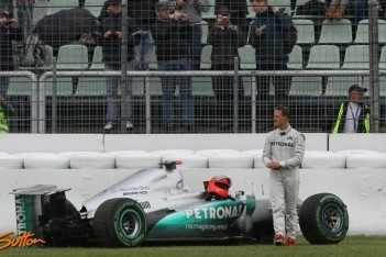 """Schumacher: """"Crash was mijn eigen schuld"""""""