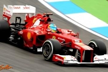 Alonso snelste in derde training Hockenheim