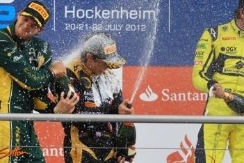 Calado wint sprintrace, Van der Garde tweede