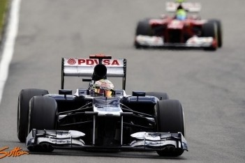 Williams verlaat Duitse Grand Prix zonder punten