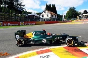 Caterham ontvangt boete voor pitstop Kovalainen