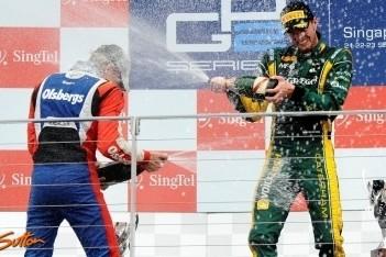 Van der Garde wint laatste race van het jaar