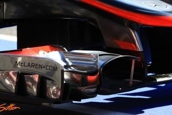 'Ferrari klaagt bij FIA over voorvleugel McLaren'
