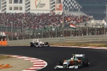 FIA past eerste DRS-zone India licht aan