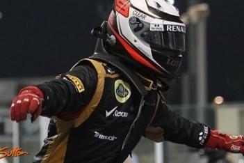 Raikkonen koel na eerste zege voor Lotus