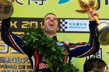 Felix da Costa wint in straten Macau