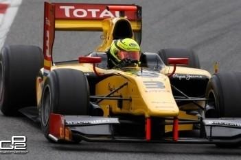 Melker test opnieuw voor Racing Engineering