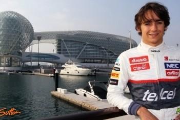 Gutierrez in 2013 voor Sauber, Frijns reserverijder