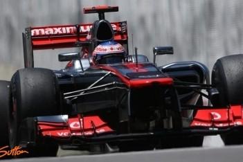 Button snelste in laatste training Interlagos