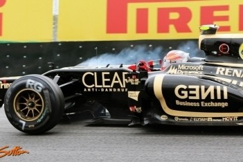 Grosjean boos vanwege botsing De la Rosa