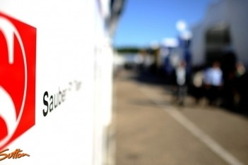 Nieuwe Sauber op tijd klaar voor eerste test