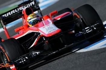 Marussia content over werk Chilton en Razia