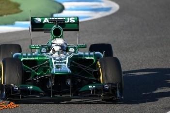 """Van der Garde: """"Mercedes en Lotus erg sterk"""""""