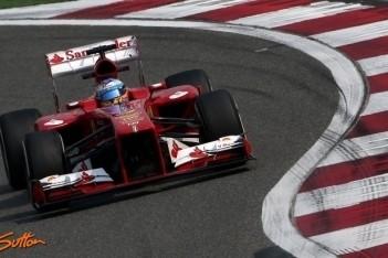 Alonso snelste in laatste training Shanghai