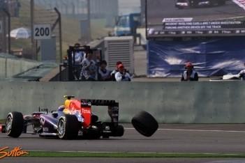 Webber kent bijzonder moeilijk weekeinde
