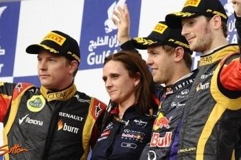 Vettel pakt tweede van het seizoen in Bahrein