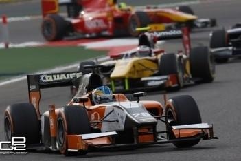 Eerste punten voor Nederlands GP2-team