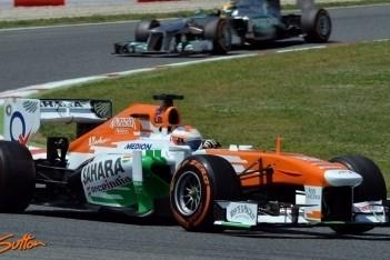 Force India blij met in Spanje getoond tempo