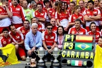 """Ferrari: """"Helemaal niets mis met vier pitstops"""""""
