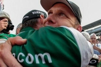 Carpenter op pole-position voor 97e Indy 500