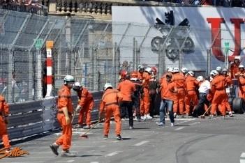 Grand Prix van Monaco stilgelegd na incident