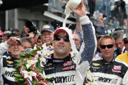 Kanaan pakt eindelijk overwinning in Indy 500