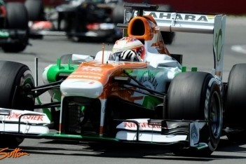 Lucht geklaard tussen Di Resta en Force India